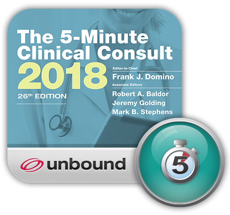 5-Minute Clinical Consult App for iPhone, iPad, Android