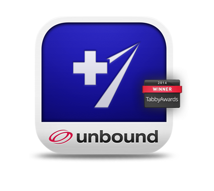 Unbound MEDLINE icon Tabby Award Winner