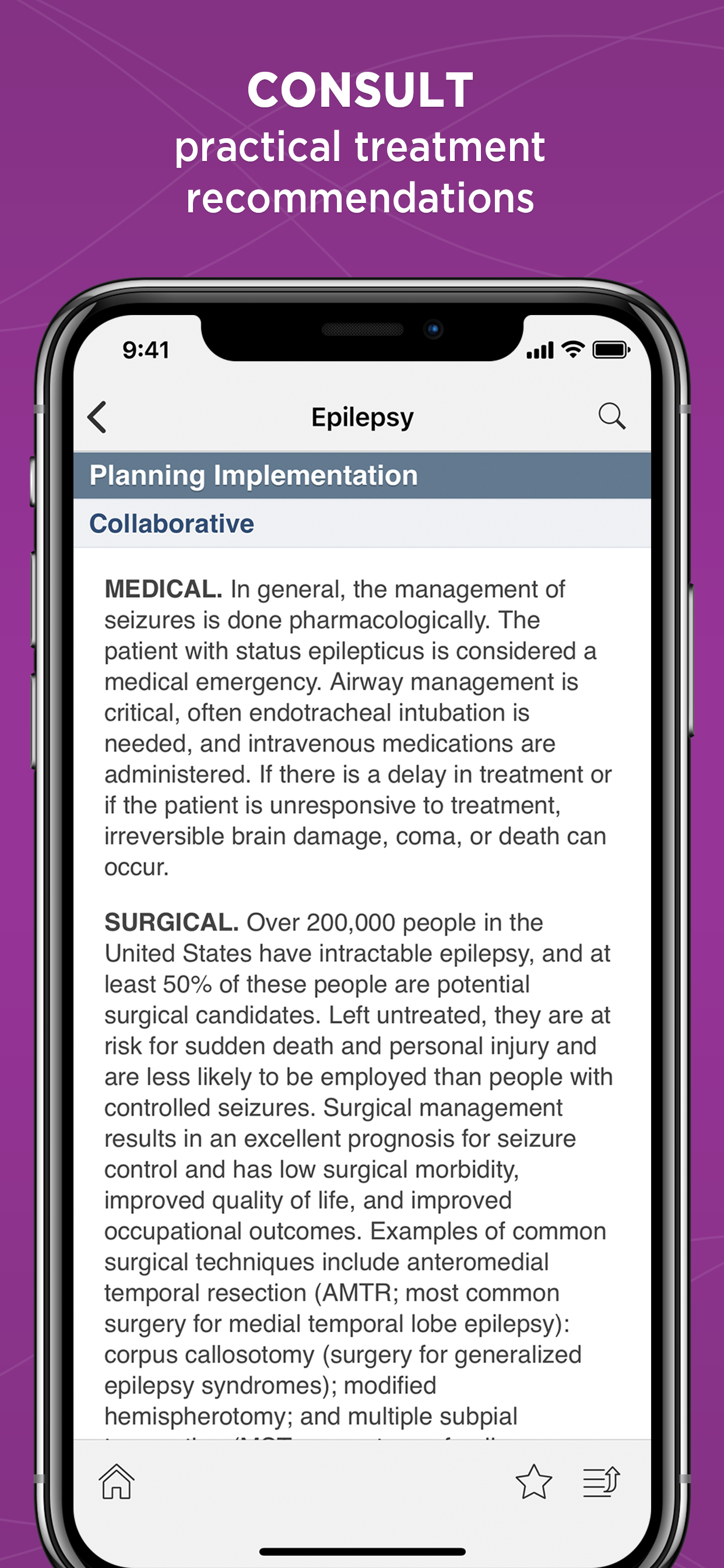 Unbound Medicine | Diseases and Disorders App for iPad