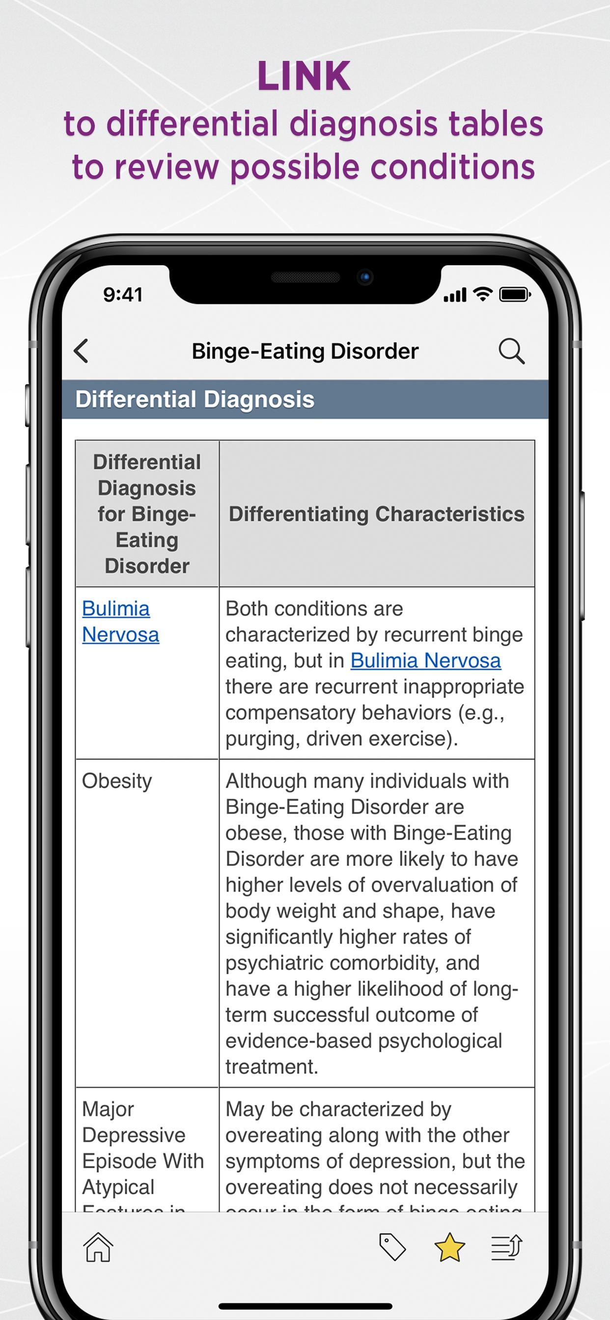 Unbound Medicine   DSM-5™ Differential Diagnosis Handbook