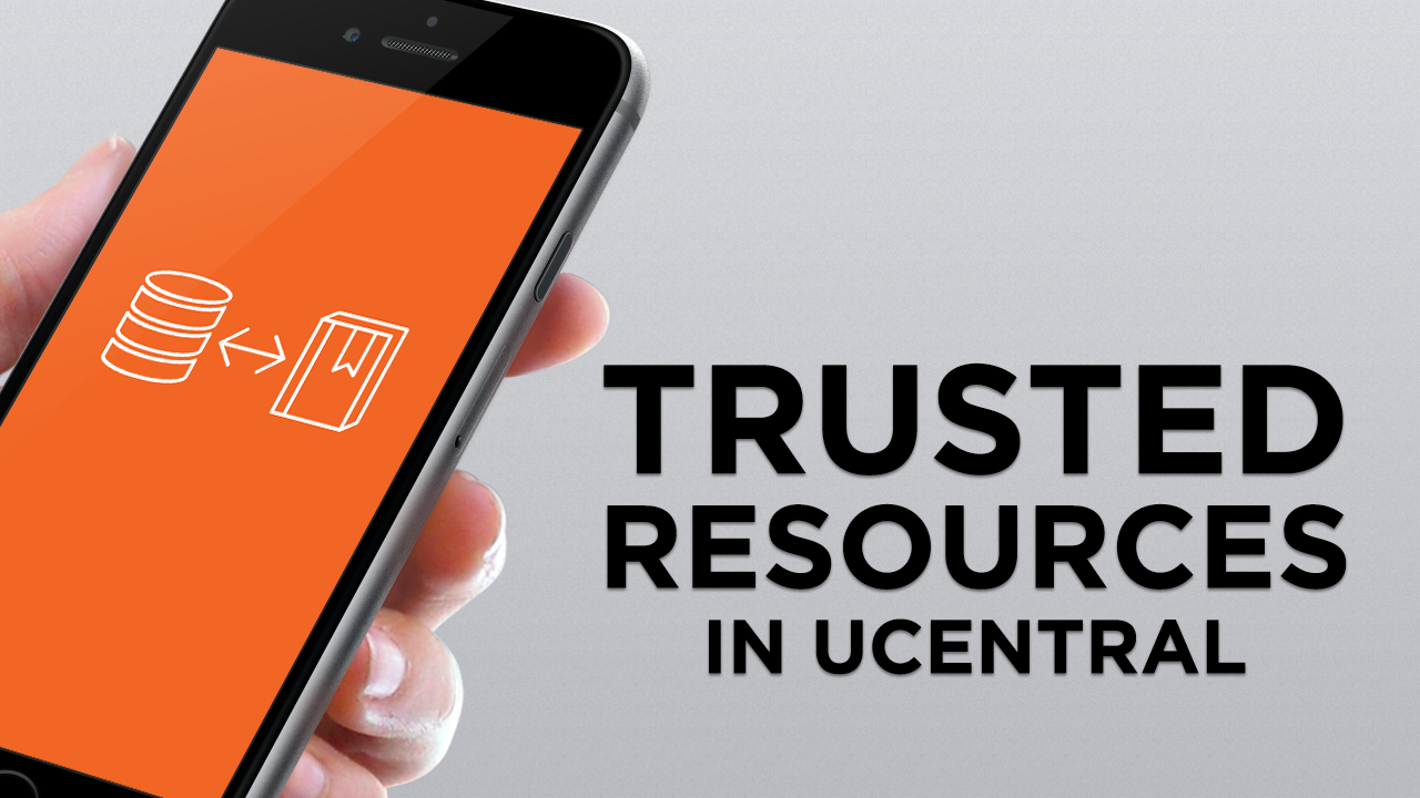 A short overview of how institutions can use uCentral to create and distribute a customizable collection of trusted resources on smartphones and tablets.